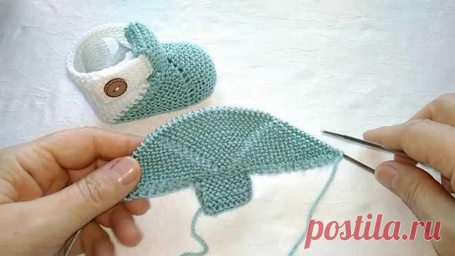 Пинетки спицами  #пинетки_спицами@knit_best, #пинетки_башмачки@knit_best  видео мк  Источник: https://www.youtube.com/watch?v=TphfwCoQ-yQ