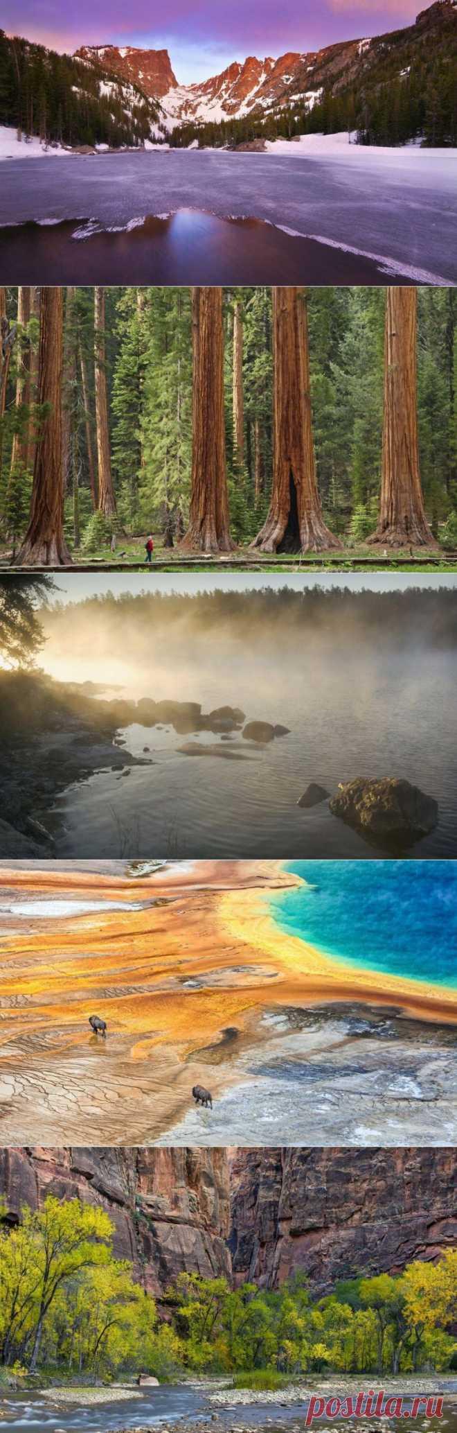 Америка и её национальные парки / Туристический спутник