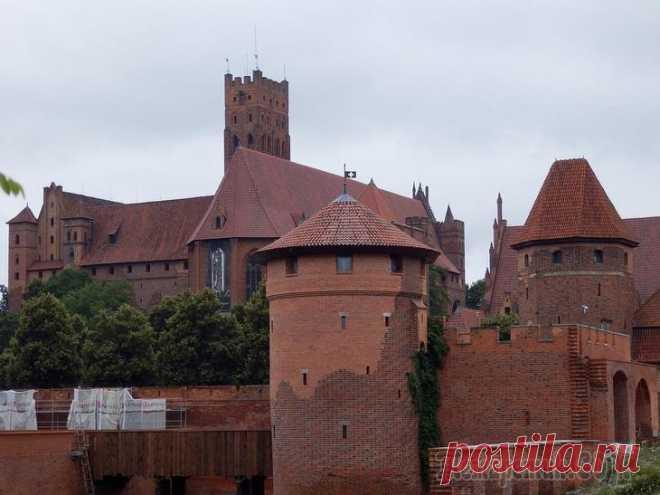 Мариенбург: застывший в средневековье