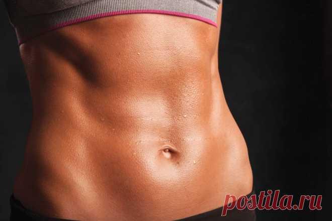 ТОП-5 самых эффективных упражнений для плоского живота