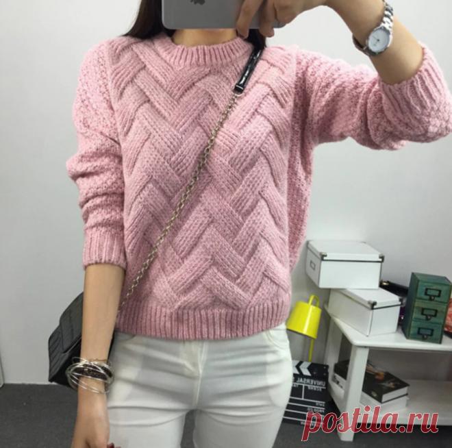 Не знаете, что связать? Идеи женских свитеров   Факультет рукоделия   Яндекс Дзен