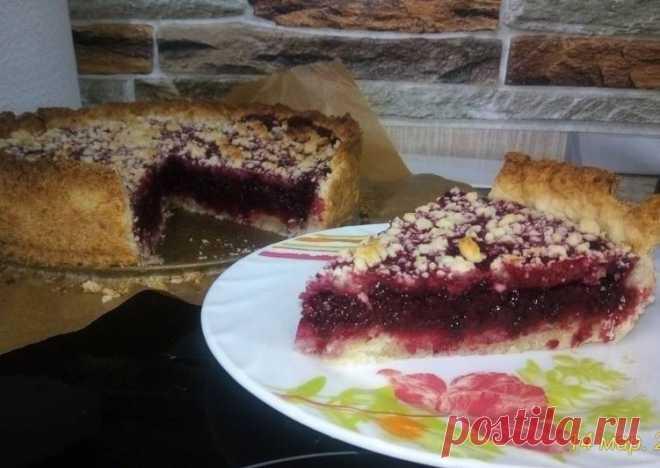 Ягодный пирог постный - пошаговый рецепт с фото. Автор рецепта Евгения Голикова . - Cookpad