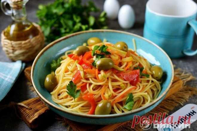 Вегетарианская паста - рецепт с фото пошагово
