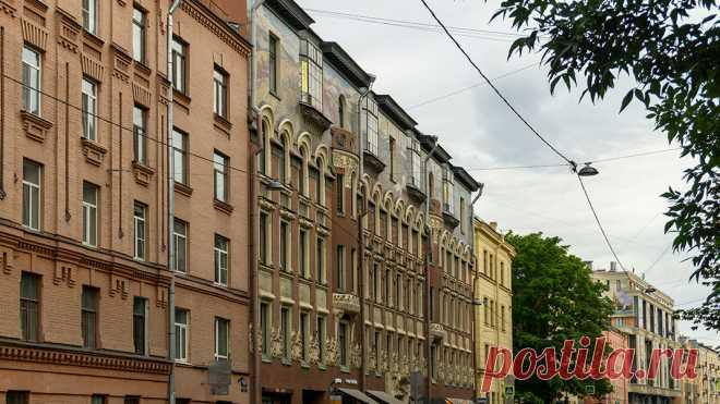 Удивительный дом Н. Н. Лейхтенбергского на Петроградской стороне