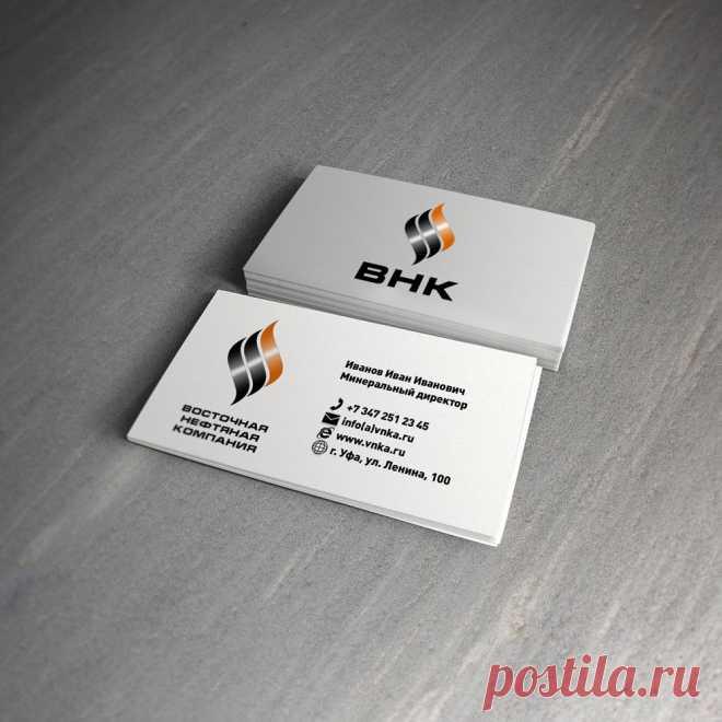 Наша работа для Восточной Нефтяной Компании (вариант 5) Создание сайтов, фирменного стиля ДизайнСтудияВесна.рф