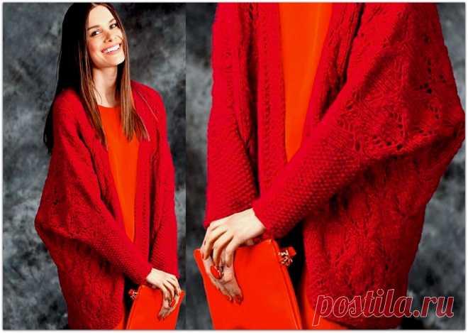 Вяжем 7 кардиганов спицами — плетёнка из кос, ажур и стильные араны | Paradosik_Handmade | Яндекс Дзен
