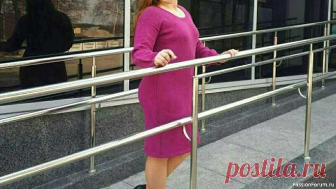 Классическое платье спицами /Расчеты / Мастер-класс/ | Вязание для женщин спицами. Схемы вязания спицами Классическое платье спицамиПряжа: итальянская бобинная 80% меринос 20% акрил 300 м/100 гр - 750 грамм Спицы: №3,4.