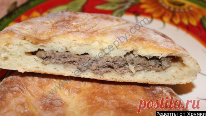 Традиционный осетинский пирог с мясом