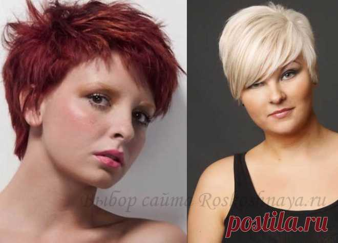 Hairstyles for full photos of hairdresses on short, average and long hair