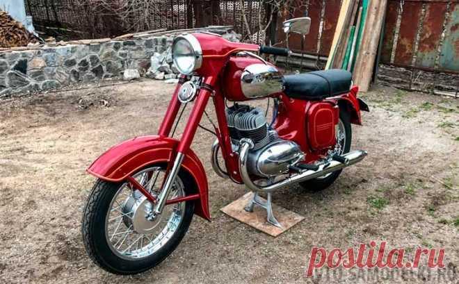 Реставрация мотоцикла Ява 350 typ 360 (22 фото) | Авто самоделки Приветствую всех! Вот хочу показать восстановленную Яву