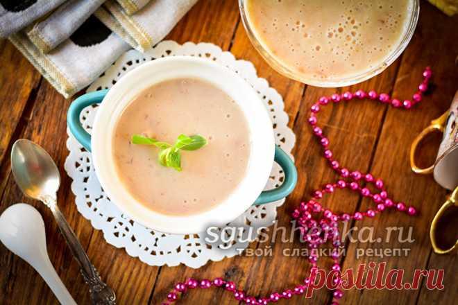 Десерт без сахара и муки на кефире - рецепт с фото