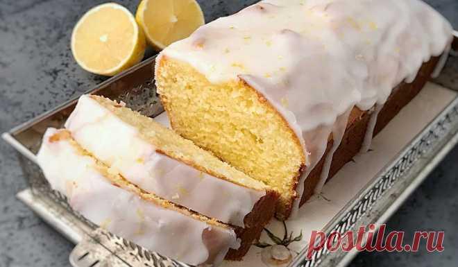 Лимонный пирог на кефире - Со Вкусом