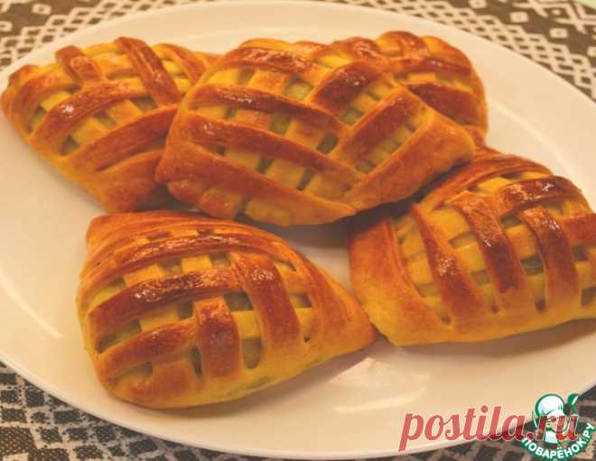 Быстрые пирожки-плетёнки с печенью – кулинарный рецепт