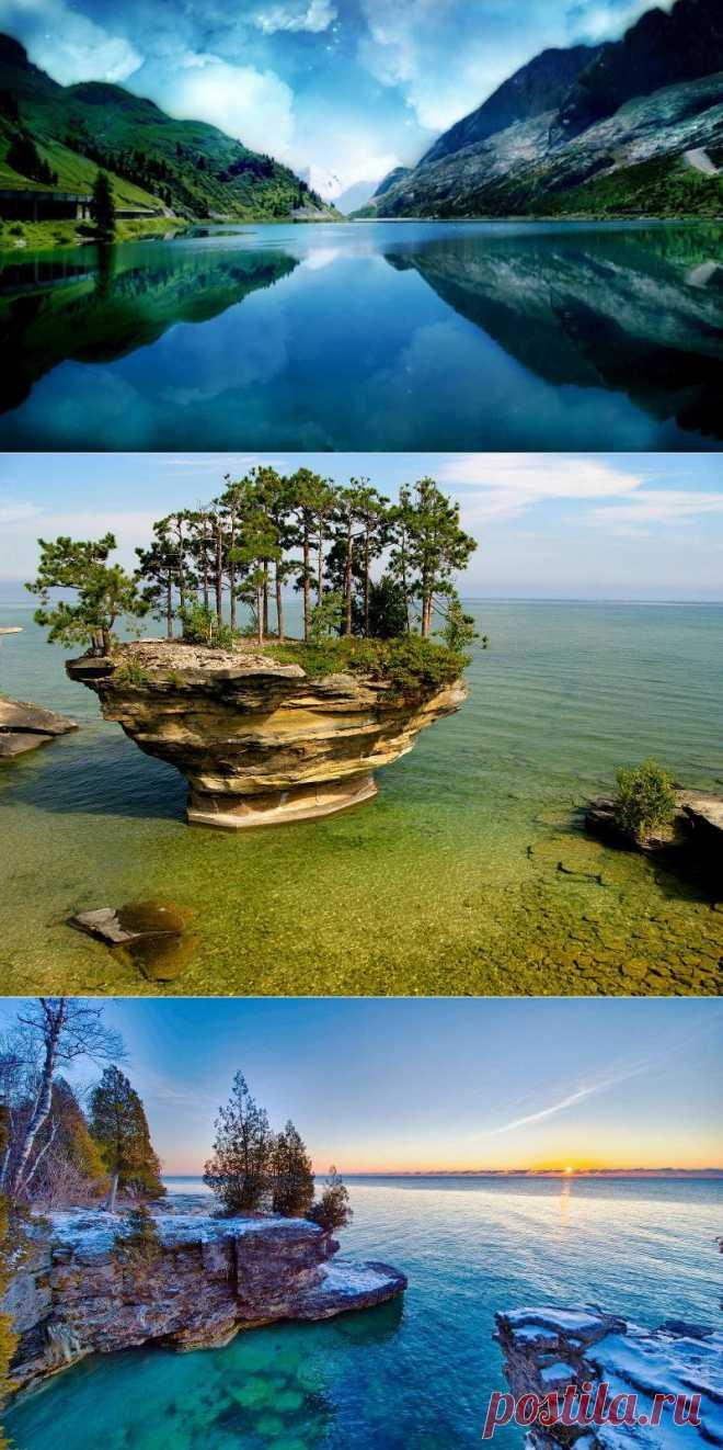10 самых больших озер на Земле