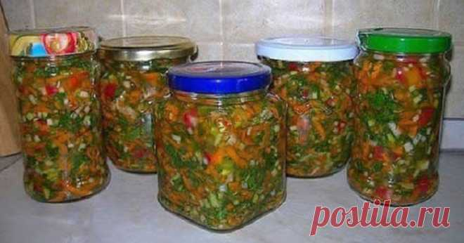 Кулинария >Отличная овощная заправка для первых блюд.