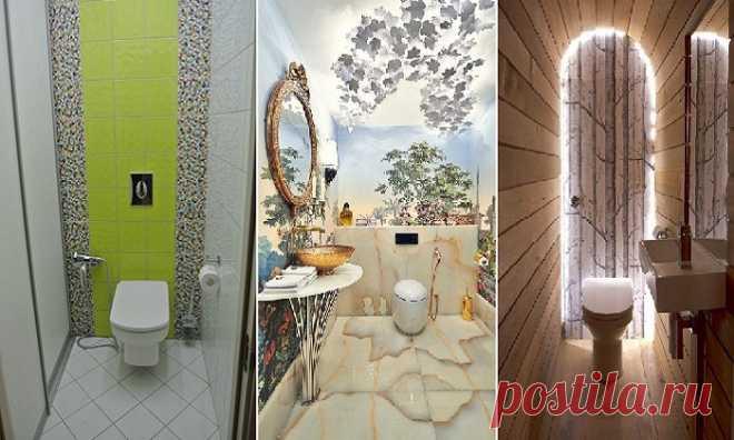 Яркие и смелые идеи оформления туалета, которые легко воплотить в жизнь даже на 1 кв метре