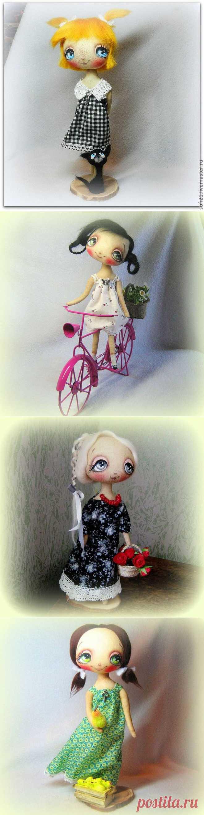 "милые куклы от ""Софи"" Александра Рипка (Украина, Киев)."