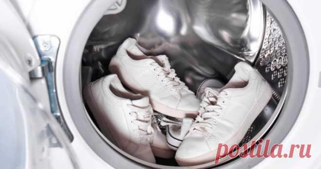 Особенности стирки кроссовок в стиральной машине