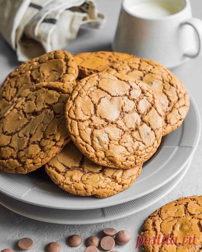 Идеальное печенье с молочным шоколадом | Andy Chef (Энди Шеф) — блог о еде и путешествиях, пошаговые рецепты, интернет-магазин для кондитеров |