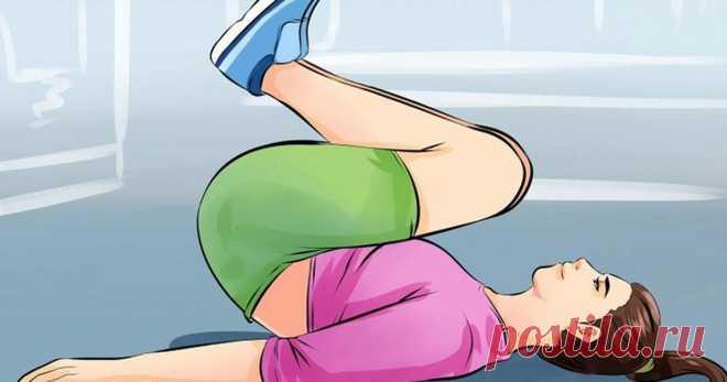 9 упражнений для сжигания жира на животе за 14 дней Прощаемся с лишними килограммами легко!