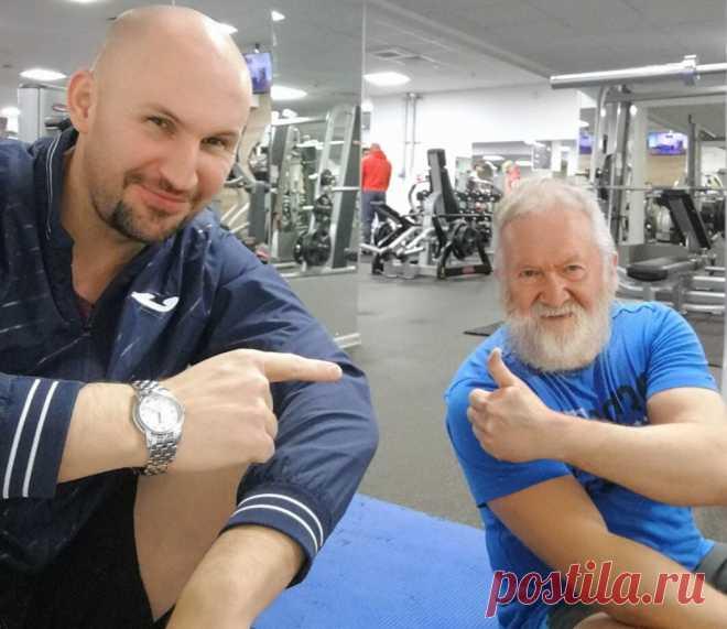 Показываю упражнения для позвоночника, которые я даю пенсионерам и они им нравятся | Геннадий Лянго | Яндекс Дзен