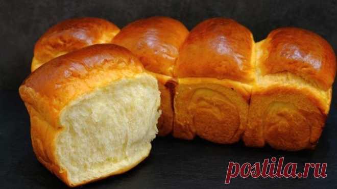 Хлеб на хлебной ЗАВАРКЕ долго не черствеет и не крошится! Молочный хлеб