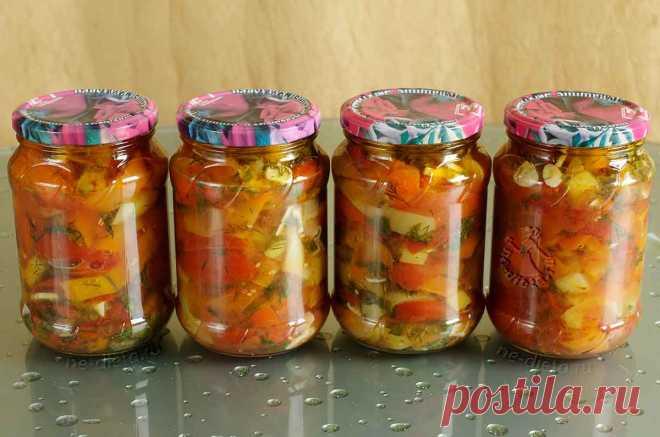 Маринованный болгарский перец с помидорами - рецепт с пошаговыми фото   ne-dieta