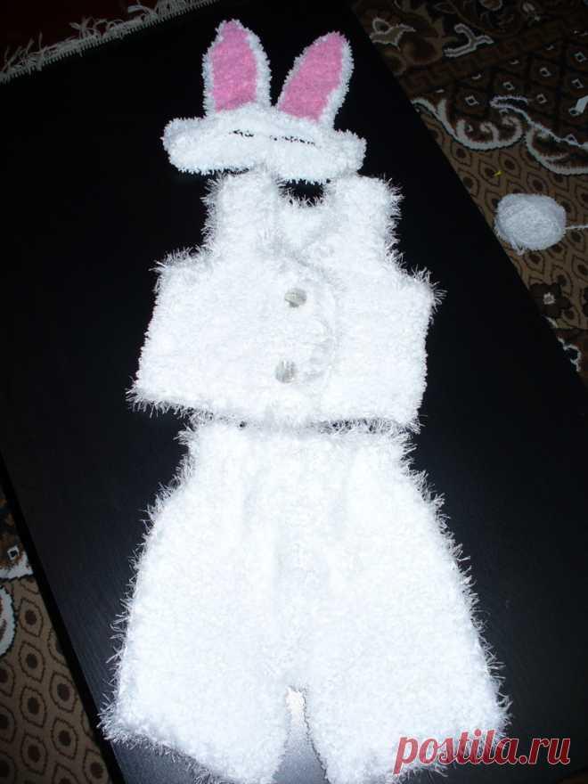 Вязанные новогодние костюмы своими руками | зая | Постила - photo#33
