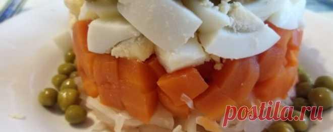 Салат из моркови и яиц диетический - Диетический рецепт ПП с фото и видео - Калорийность БЖУ