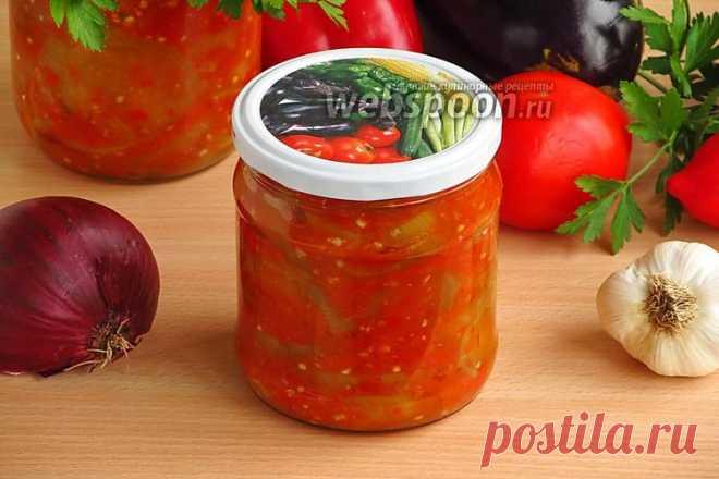 Салат на зиму «Тёщин язык» рецепт с фото на Webspoon.ru