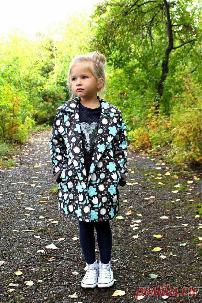 Плащ пальто для девочки Модная одежда и дизайн интерьера своими руками