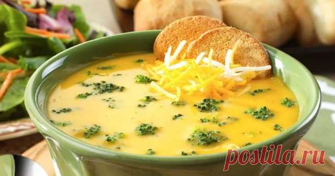 7 сырных супов, которые надолго станут вашими любимыми блюдами Читать далее...