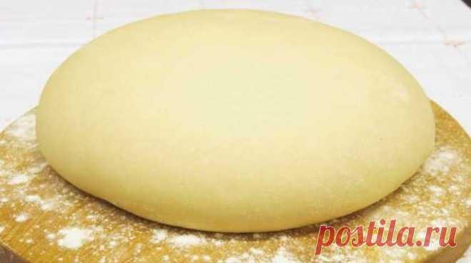 Тесто «Как пух» на кефире — без яиц — ХОЗЯЮШКА24