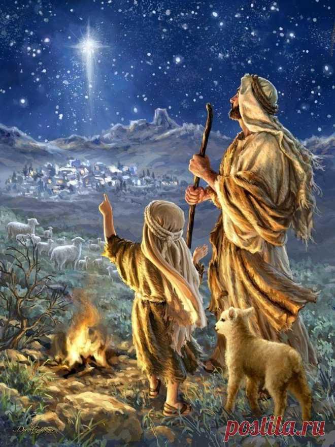Вот наступает РОЖДЕСТВО, И в душах наших Волшебство! Я пожелаю всем Добра, Здоровья, Мира и Тепла.  С НАСТУПАЮЩИМ РОЖДЕСТВОМ   ХРИСТОВЫМ!