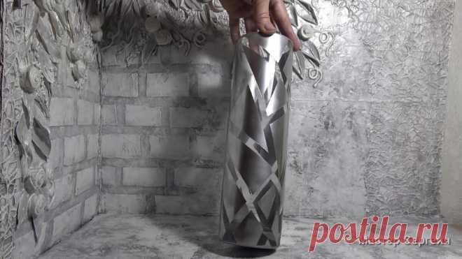 Стильная вещь для дома из скучной стеклянной вазы | Мастер Сергеич | Яндекс Дзен
