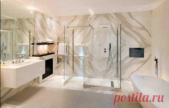 Дизайн интерьера ванной. Рекомендации по обустройству (+ эл. книга)