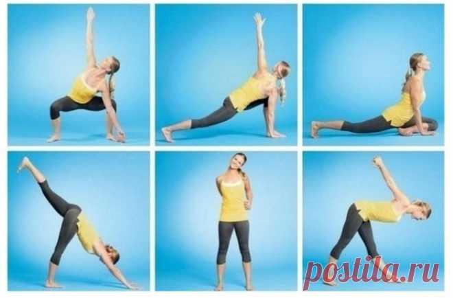 Set of exercises for flexibility development