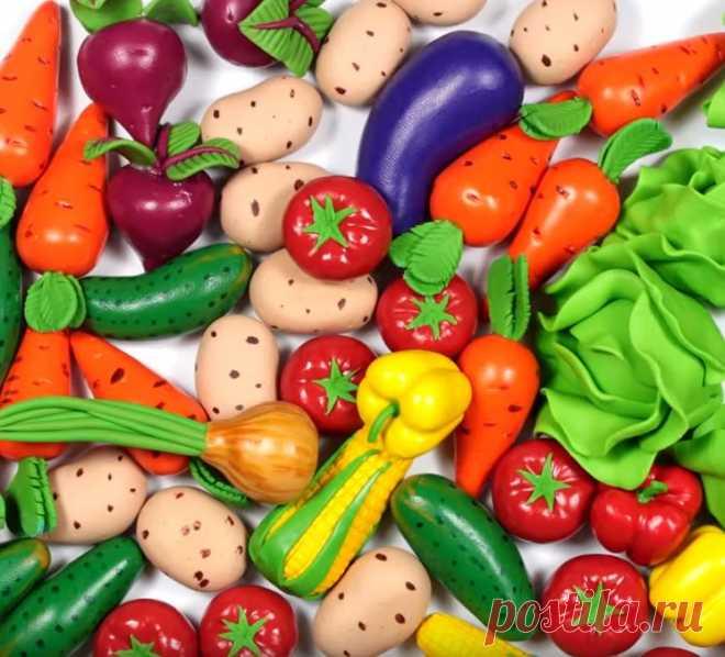Как сделать овощи своими руками