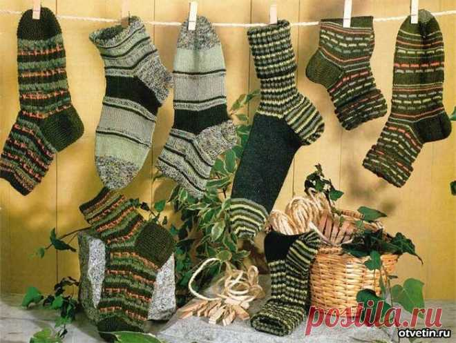 Как определить, сколько петель нужно для вязания носков?