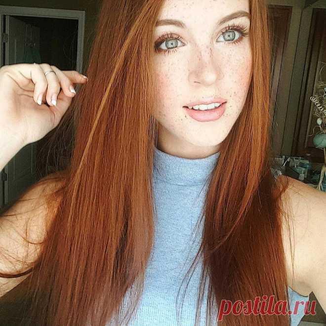 фото рыжие девушки