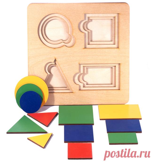 Как познакомить ребенка с формой | Игры с детьми от года до семи | Яндекс Дзен