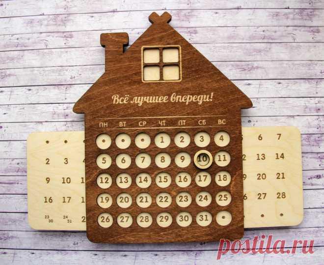 Как сделать вечный календарь — Сделай сам, идеи для творчества - DIY Ideas