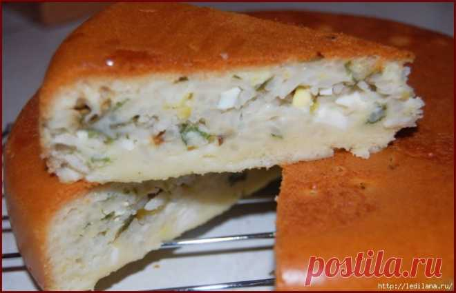 Тесто на майонезе для пирога с рыбой