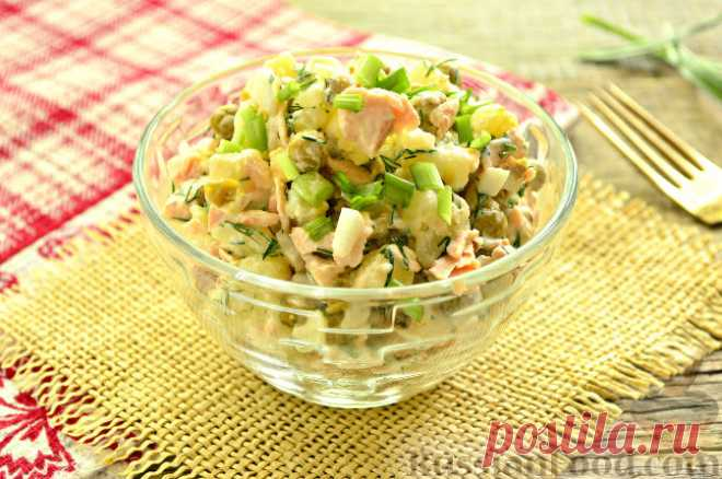 La ensalada de pez