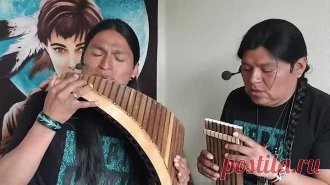 Музыка индейцев - это просто восхитительно! Очень красивое звучание!