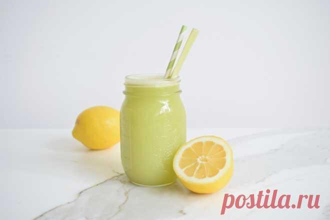 Ощелачивающий лимонад из сельдерея