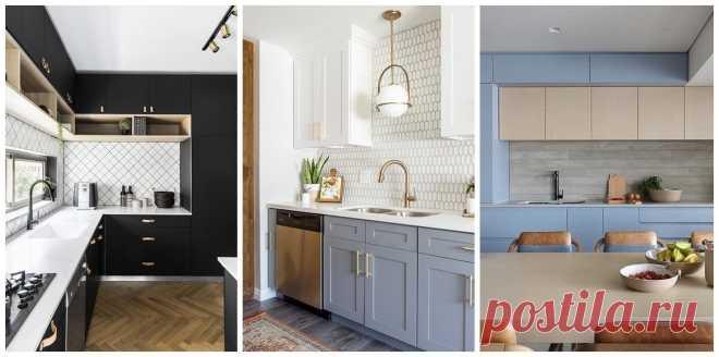 Как сочетать фартук и столешницу, чтобы кухня выглядела гармонично? | Дизайн интерьера | Яндекс Дзен