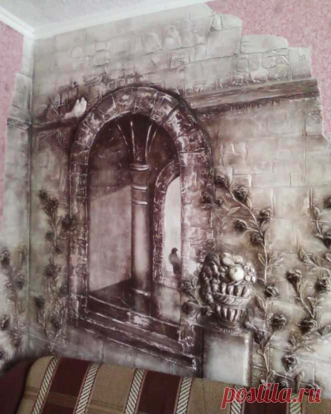 окно-барельеф