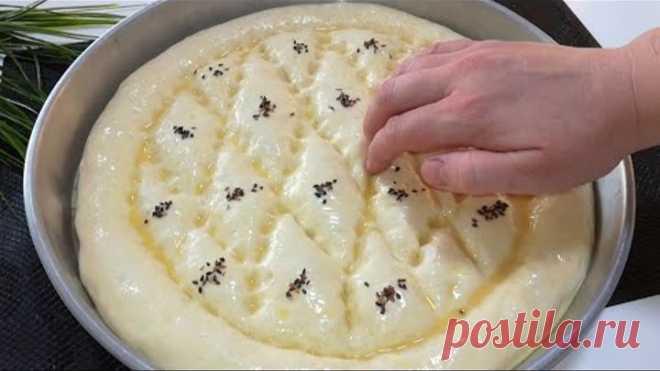 Почему я раньше так не готовила! Моя семья просто влюбиласьв эти лепешки / Турецкая Лепешка #Pide