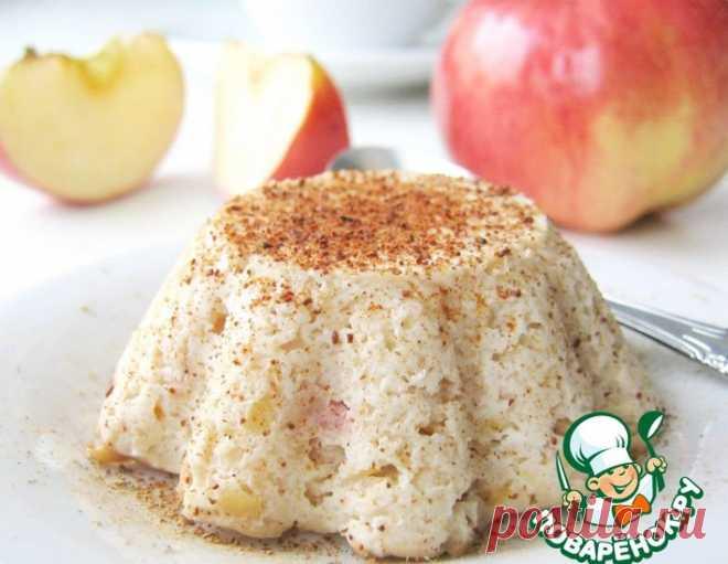 Творожно-яблочное суфле – кулинарный рецепт